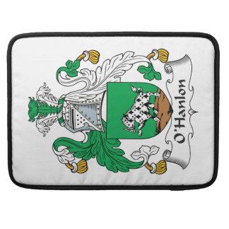 Escudo de la familia de O'Hanlon Funda Para Macbooks