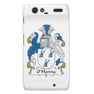Escudo de la familia de O'Hanna Motorola Droid RAZR Carcasa