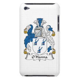 Escudo de la familia de O'Hanna iPod Touch Protectores