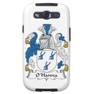 Escudo de la familia de O'Hanna Samsung Galaxy S3 Carcasas
