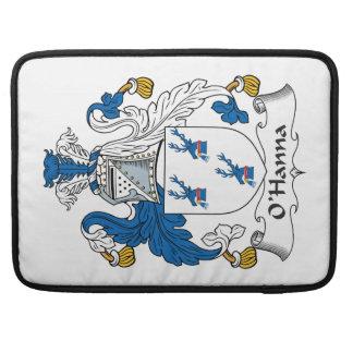 Escudo de la familia de O'Hanna Fundas Para Macbooks