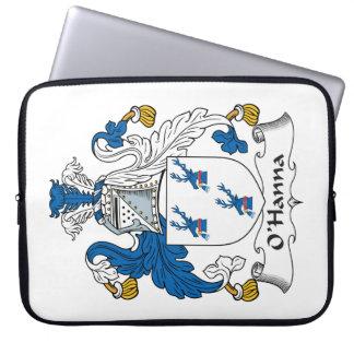 Escudo de la familia de O'Hanna Fundas Portátiles