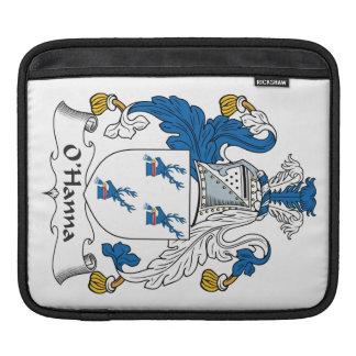 Escudo de la familia de O'Hanna Mangas De iPad