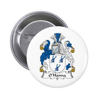 Escudo de la familia de O'Hanna Pin