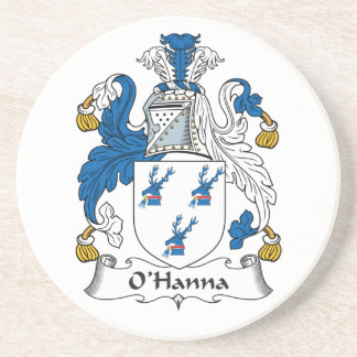 Escudo de la familia de O'Hanna Posavasos Para Bebidas