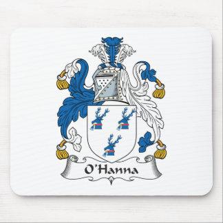Escudo de la familia de O'Hanna Alfombrilla De Ratones