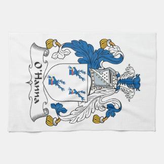 Escudo de la familia de O'Hanna Toalla