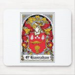 Escudo de la familia de O'Hanrahan Tapete De Raton