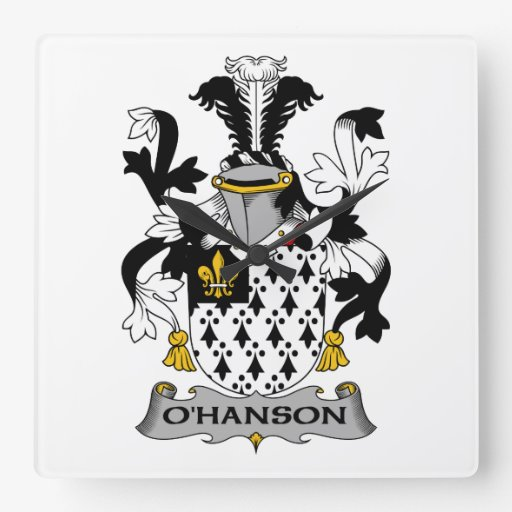 Escudo de la familia de O'Hanson Relojes
