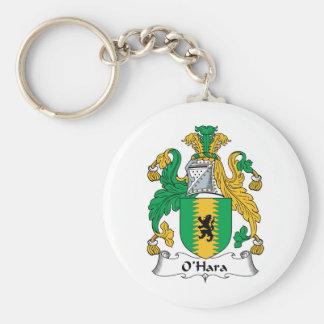 Escudo de la familia de O'Hara Llaveros