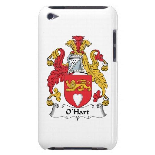 Escudo de la familia de O'Hart Barely There iPod Coberturas