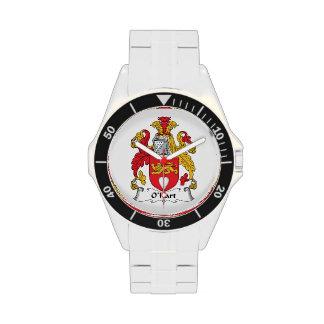 Escudo de la familia de O'Hart Reloj