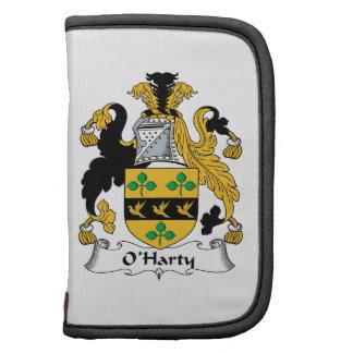 Escudo de la familia de O'Harty Planificador