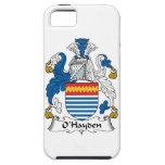 Escudo de la familia de O'Hayden iPhone 5 Protectores