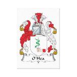 Escudo de la familia de O'Hea Lona Envuelta Para Galerías