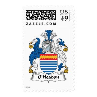 Escudo de la familia de O'Headon Envio
