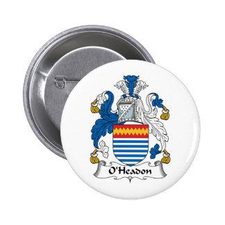 Escudo de la familia de O'Headon Pin