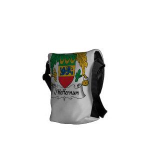 Escudo de la familia de O'Heffernan Bolsa De Mensajeria