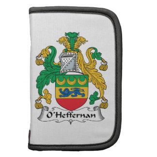 Escudo de la familia de O'Heffernan Organizadores
