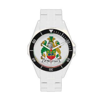Escudo de la familia de O'Heffernan Relojes De Mano