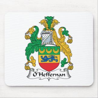 Escudo de la familia de O'Heffernan Tapete De Ratones