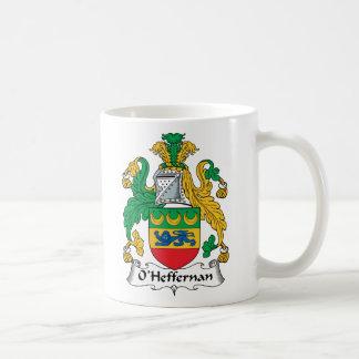 Escudo de la familia de O'Heffernan Tazas De Café