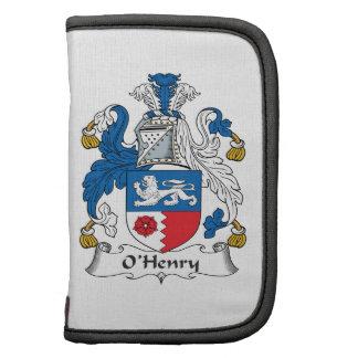 Escudo de la familia de O'Henry Organizadores