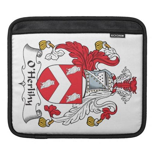 Escudo de la familia de O'Herlihy Funda Para iPads