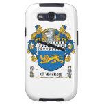 Escudo de la familia de O'Hickey Galaxy S3 Protectores
