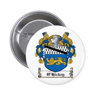 Escudo de la familia de O'Hickey Pin