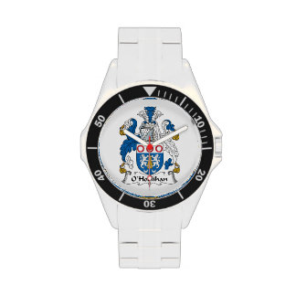 Escudo de la familia de O'Hoolihan Relojes De Pulsera