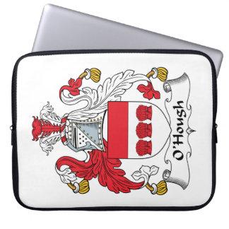 Escudo de la familia de O'Hough Fundas Computadoras
