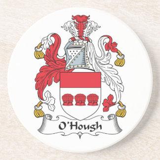 Escudo de la familia de O'Hough Posavasos De Arenisca