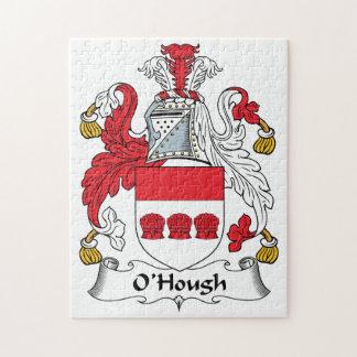 Escudo de la familia de O'Hough Rompecabeza Con Fotos