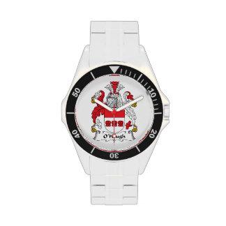 Escudo de la familia de O'Hough Reloj De Mano