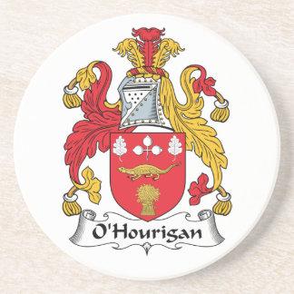 Escudo de la familia de O'Hourigan Posavasos Diseño