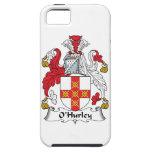 Escudo de la familia de O'Hurley iPhone 5 Carcasas