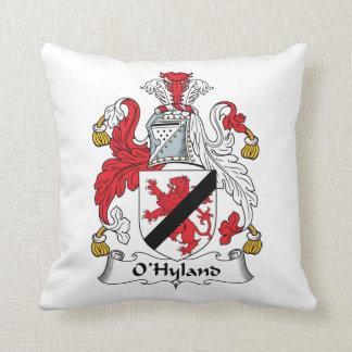 Escudo de la familia de O'Hyland Almohadas