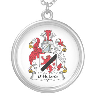 Escudo de la familia de O'Hyland Colgante Redondo