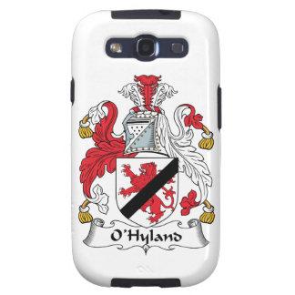 Escudo de la familia de O'Hyland Galaxy S3 Cobertura