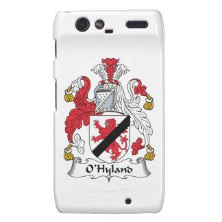 Escudo de la familia de O'Hyland Motorola Droid RAZR Carcasas