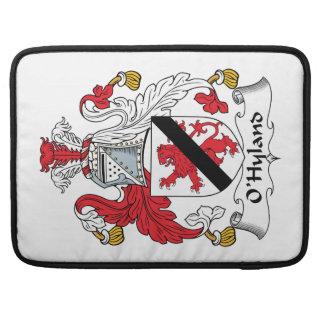 Escudo de la familia de O'Hyland Funda Macbook Pro