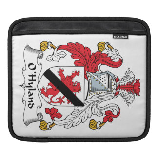 Escudo de la familia de O'Hyland Funda Para iPads