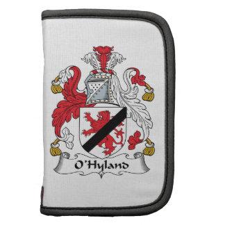 Escudo de la familia de O'Hyland Organizador