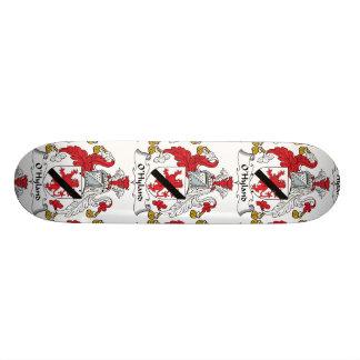 Escudo de la familia de O'Hyland Skate Board