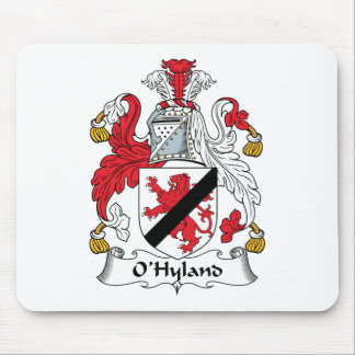 Escudo de la familia de O'Hyland Tapetes De Raton