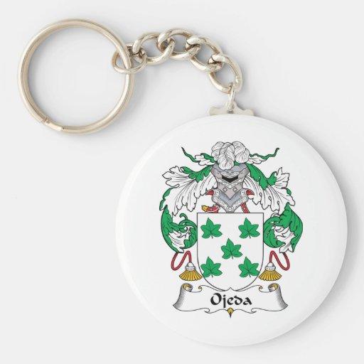 Escudo de la familia de Ojeda Llaveros