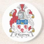 Escudo de la familia de O'Kearney Posavasos Personalizados