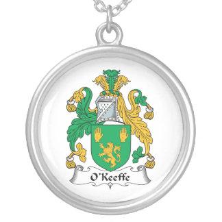 Escudo de la familia de O'Keefe Pendientes