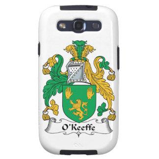Escudo de la familia de O'Keefe Galaxy SIII Coberturas